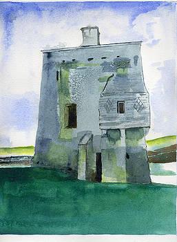 Grace O'Malley's Castle Clare Island by Kathleen Barnes
