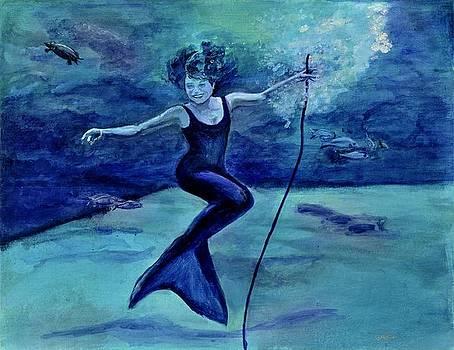 Grace Under Water by Julie Komenda