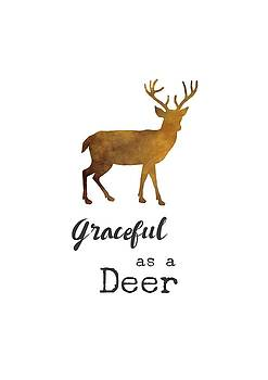 Graceful as a Deer by Eleanore Ditchburn