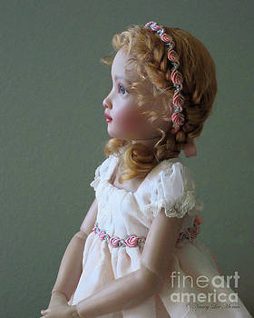 Graceful Kish Doll in Profile by Nancy Lee Moran