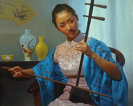 Graceful tones of Erhu  by Cheng Jiguang