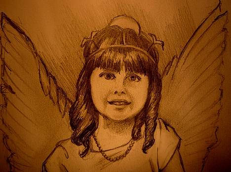 Gracie the Little Angel by June Ponte