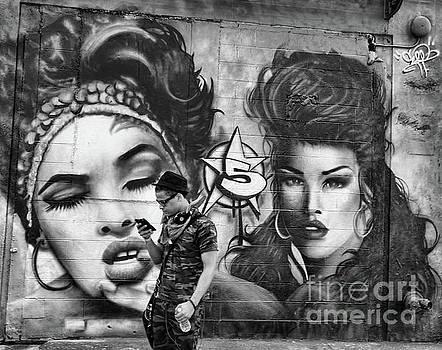 Chuck Kuhn - Graffiti  5 pts NYC