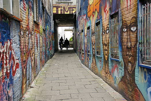 Graffiti Alley by Brandy Herren