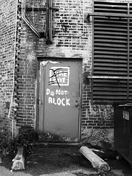 Graffiti Door II by Anna Villarreal Garbis