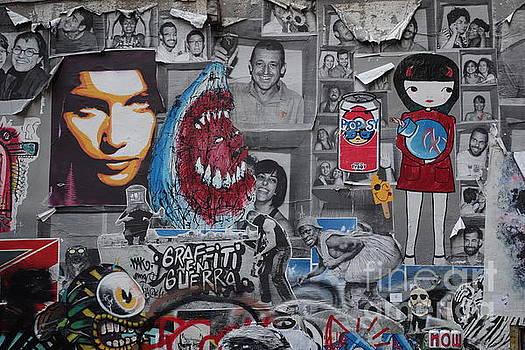 Graffiti in Barcelona by C Lythgo
