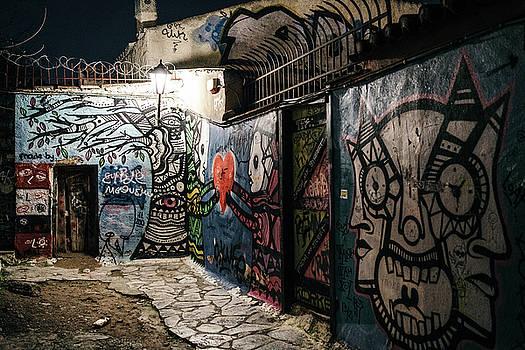 James Billings - Graffiti in Plaka i