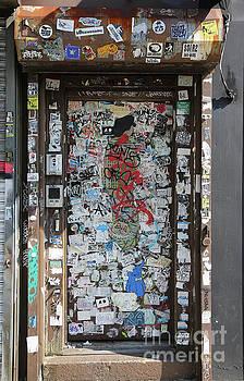 Chuck Kuhn - Graffiti Post Sticks