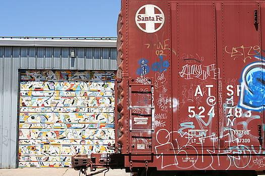 Graffiti Train by Heidi Hermes