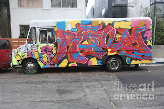 Chuck Kuhn - Graffiti Truck Van