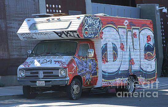 Chuck Kuhn - Graffiti Van