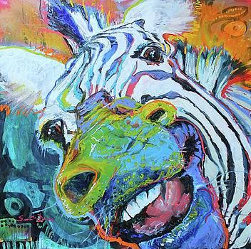 Graffiti Zebra by Susan Davies