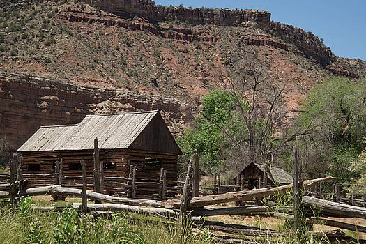 Grafton Log Barn by Robert Brusca