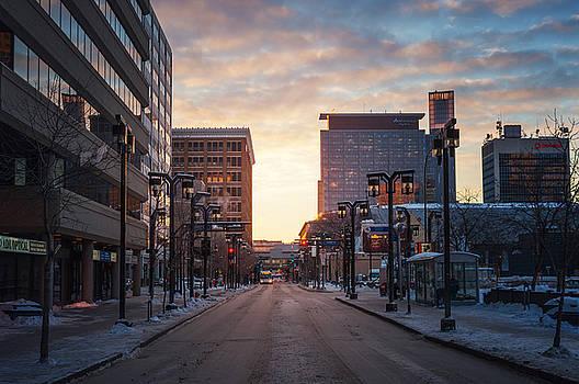 Bryan Scott - Graham Avenue Sunset