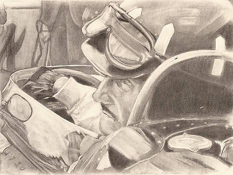 Graham Hill by Scott Shisler
