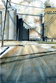 Grain Elevator at Eldean by Marsha Elliott