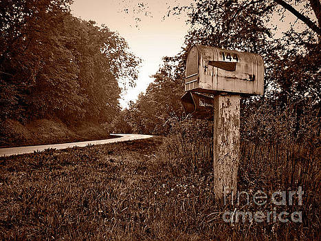 Gramma's Mailbox by Jenness Asby