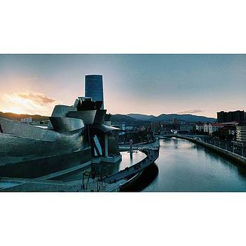 Sunset in Bilbao by Maite Ruiz