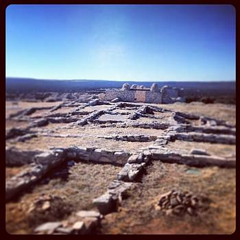 Gran Quivira Ruins #newmexicotrue by Paula Manning-Lewis