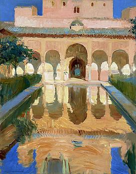 Granada - Hall of the Ambassadors Alhambra Granada by Bishopston Fine Art