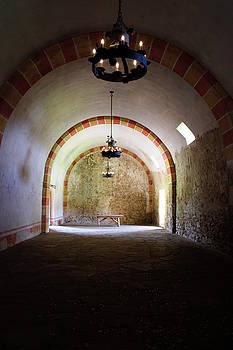 Granary - Mission San Jose' by Beth Vincent