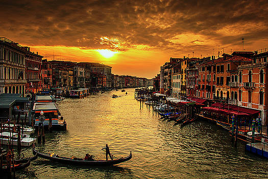 Grand Canal at Sunset by Andrew Soundarajan