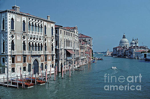 Grand Canal From Accademia Bridge Tom Wurl by Tom Wurl