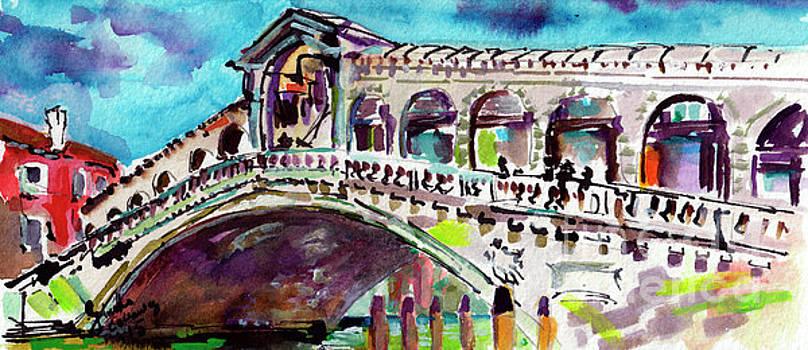 Ginette Callaway - Grand Canal Rialto Bridge