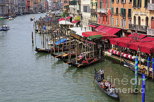 Grand Canal, Venice, Italy by Louise Heusinkveld