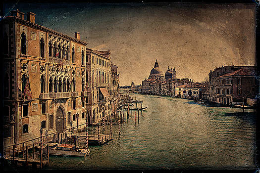 Grand Canale Venice Italy by Terri Roncone