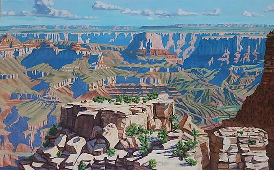 Grand Canyon  by Allen Kerns