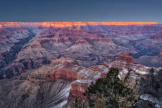 Grand Canyon Blue Hour by Gej Jones