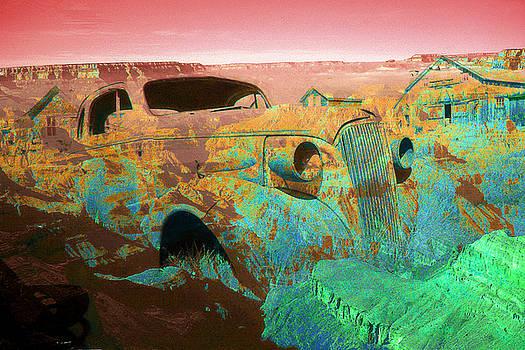 Peter Potter - Grand Canyon Car - Fantasy Artwork