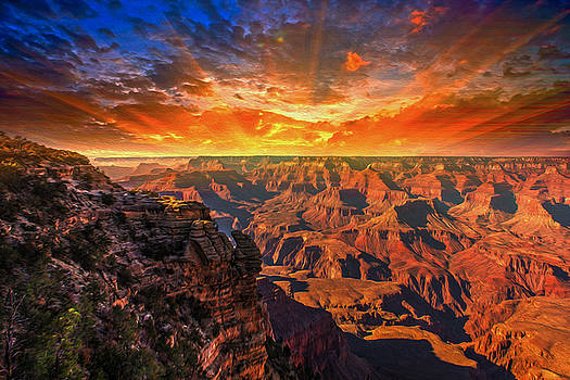 Grand Canyon National Park by Sunman Studios