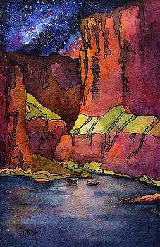 Grand Canyon Night by Stacy Egan