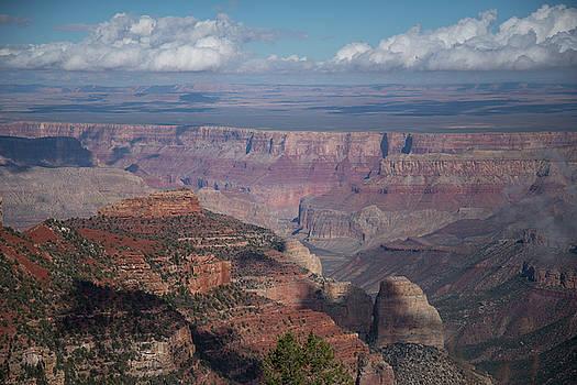 Grand Canyon North Rim Vista Encantada 4 by Frank Madia