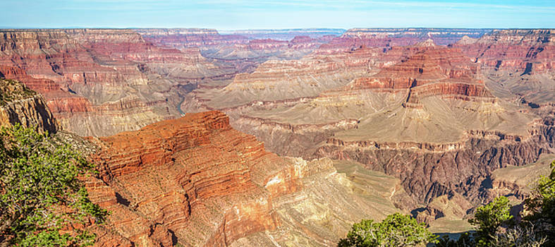Grand Canyon Panorama at Hopi Point by Daniela Constantinescu