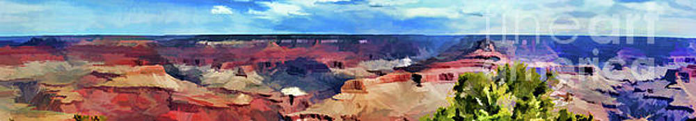 Chuck Kuhn - Grand Canyon Panorama Paint