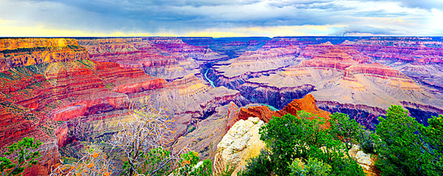 Grand Canyon Pima Point by James O Thompson