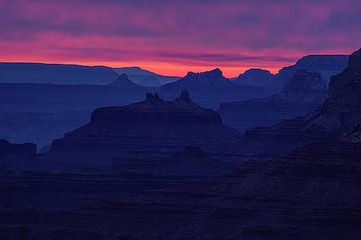 Grand Canyon Ridges by Andrew Soundarajan