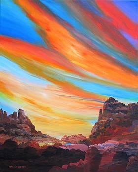 Grand Canyon  Sky by Carol Sabo