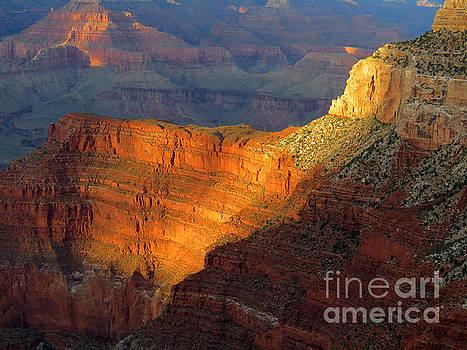 Grand Canyon Sunset by Rick Wheeler