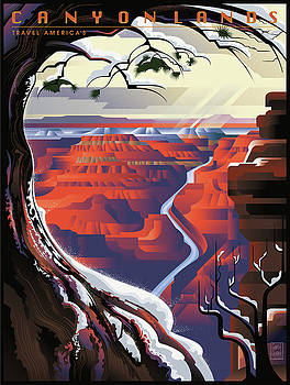 Garth Glazier - GRAND CANYON Winter