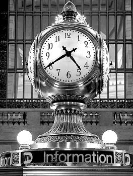 Grand Central Clock by Jaymes Williams