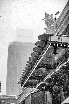 Grand Central Snow Day by Dave Beckerman