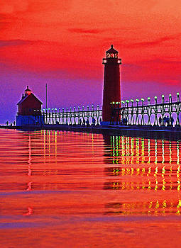 Dennis Cox - Grand Haven Lighthouse