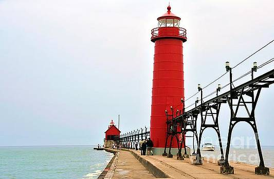 Terri Gostola - Grand Haven Lighthouse