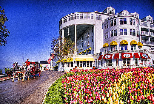 Dennis Cox WorldViews - Grand Hotel in Spring