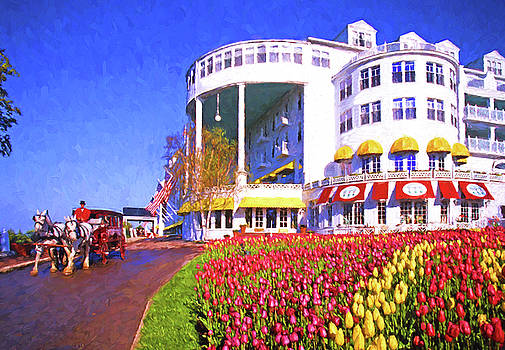 Grand Hotel Tulips by Dennis Cox Photo Explorer