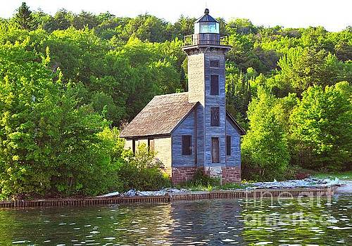 Terri Gostola - Grand Island Lighthouse in Munising Michigan